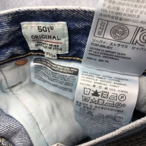 Levi's Jeans - NWT LEvi's 501 Original Made & Crafted Jeans